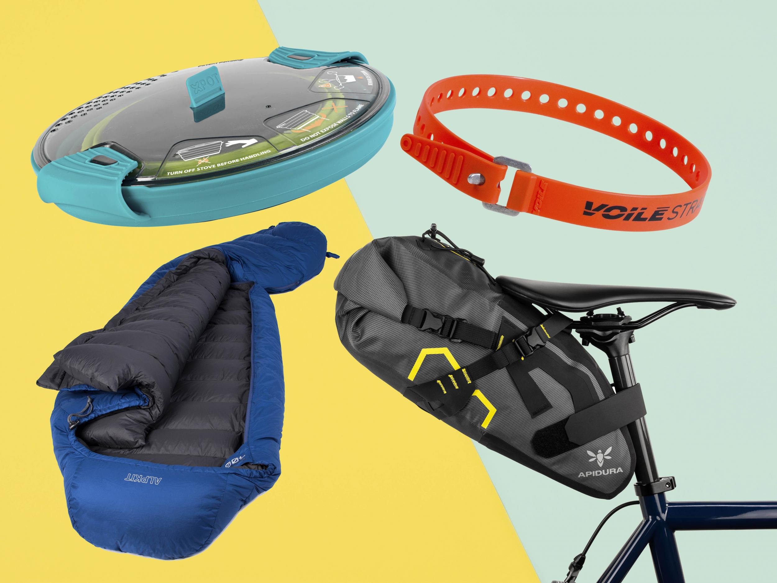 Best bikepacking kit: Lightweight camping accessories, sleeping bags
