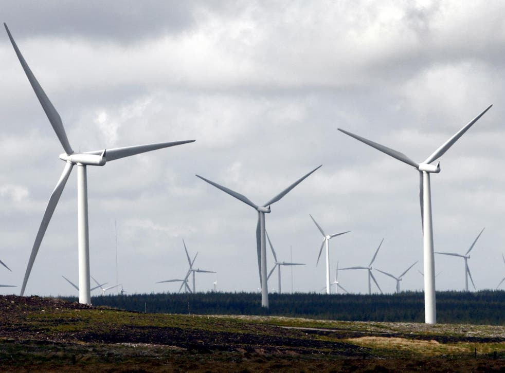 Bosses at ScottishPower have been given the go ahead to install the purpose built battery at its Whitelee wind farm (pictured), near Glasgow