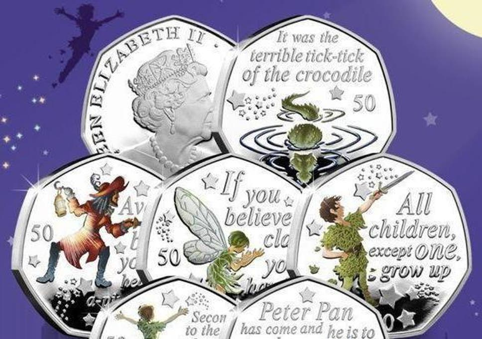 New 50p: Peter Pan coins that help raise money for Great