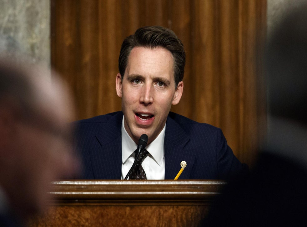 Josh Hawley Is The Most Dangerous Man In America The Independent