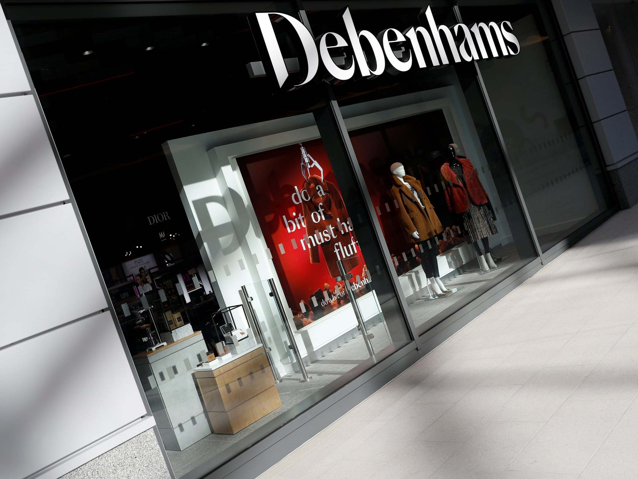 Debenhams to file for administration after stores forced to close during coronavirus lockdown