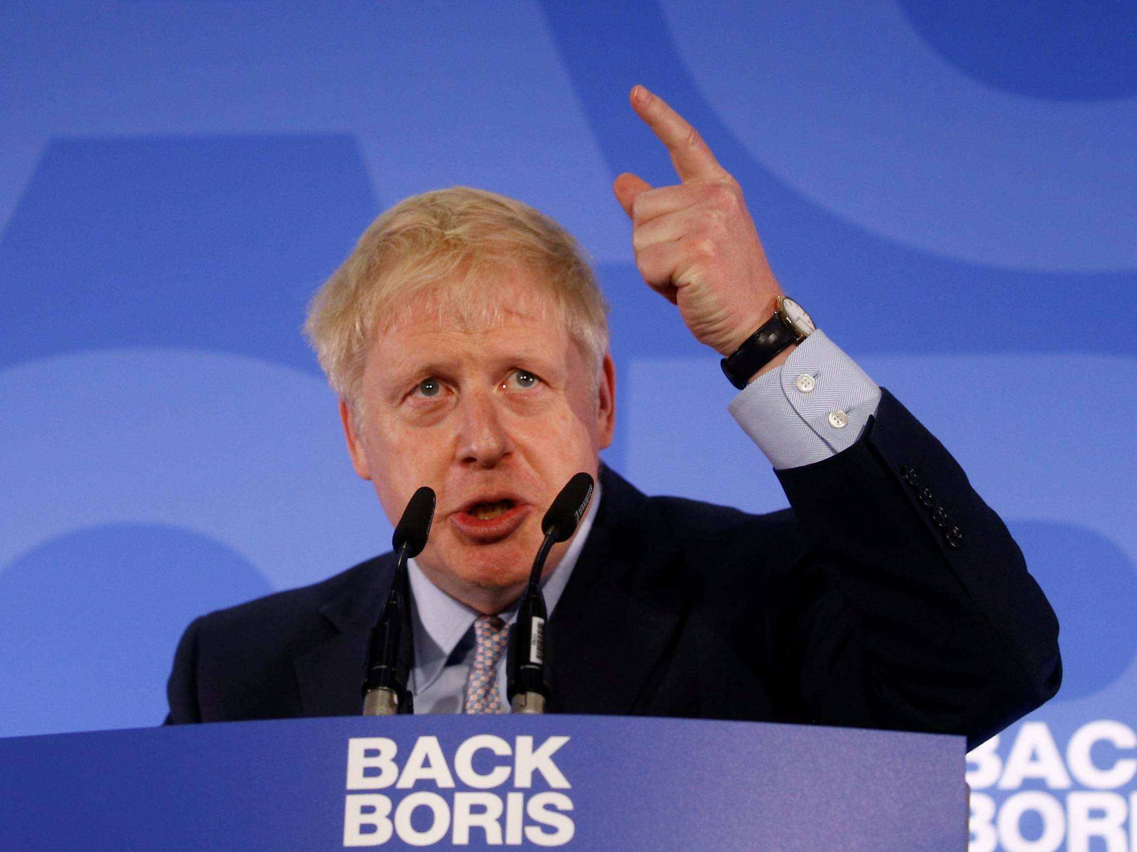 Boris Johnson.'
