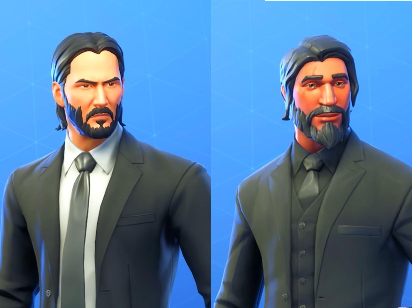 Keanu Reeves Called Fortnite Guy So Much He Decided To Make Official John Wick Skin Epic Games Reveals The Independent The Independent
