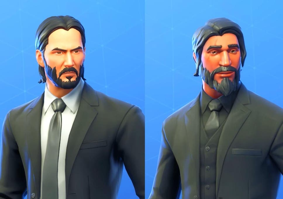 Keanu Reeves called 'Fortnite guy' so much he decided to make