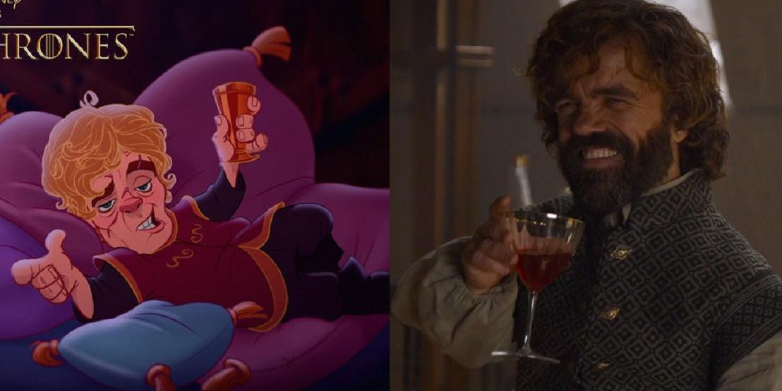 Game of Thrones characters reimagined as Disney characters is almost too perfect
