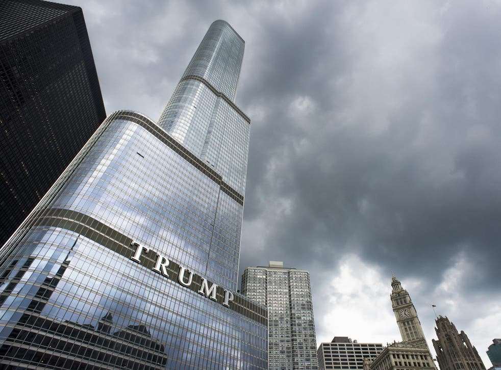Residents at two apartments in the building, that is also home to the president when he is in New York City reported the theft of the high-value jewellery