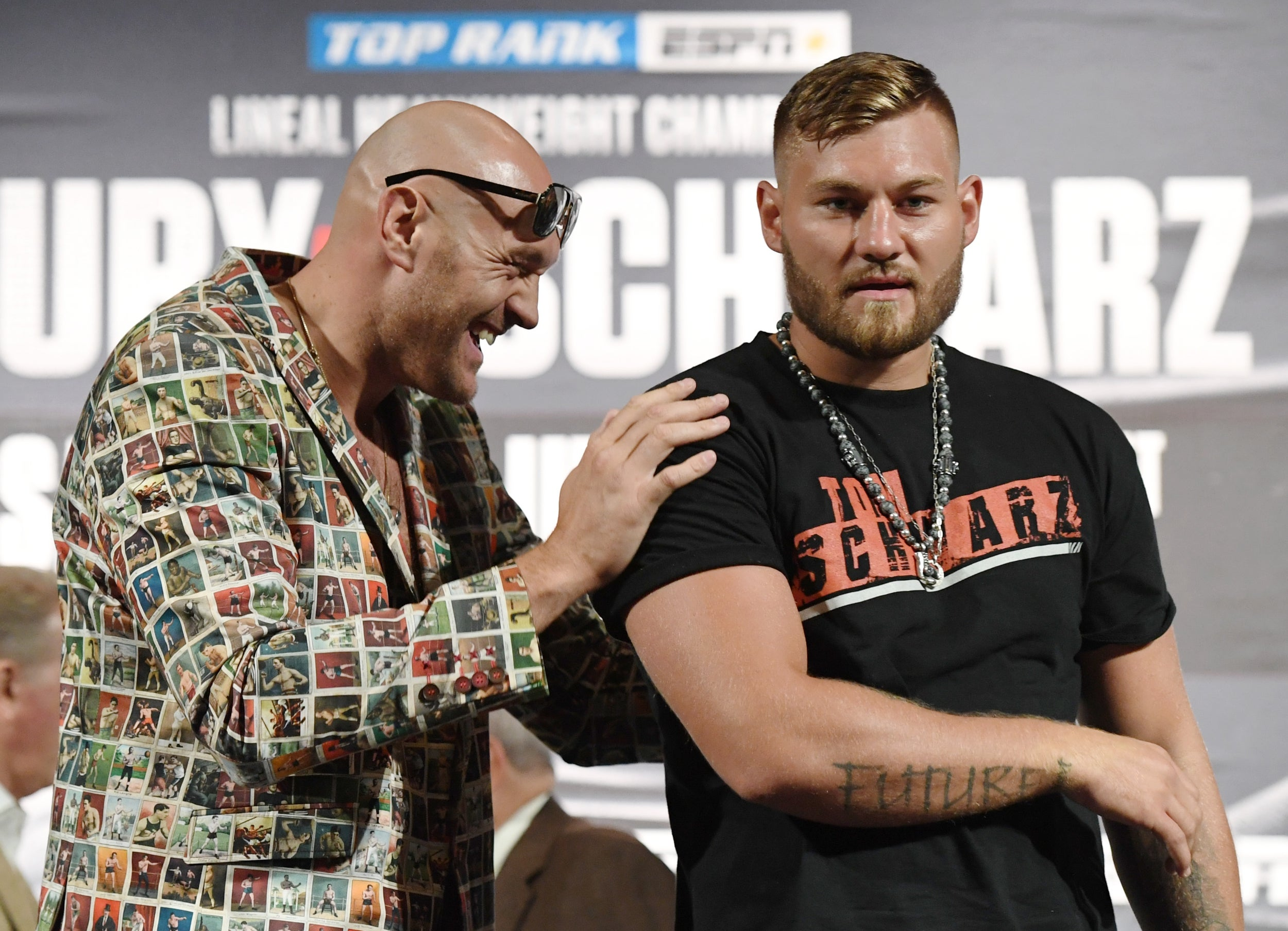 Tyson Fury Vs Tom Schwarz How To Stream Online Tv Channel