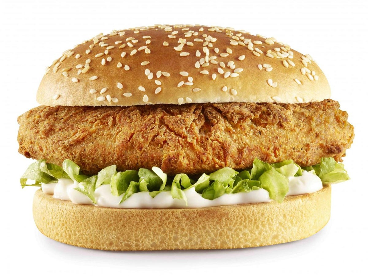 Kfc Vegan Burger To Be Launched In Uk Under Trial Scheme The Independent