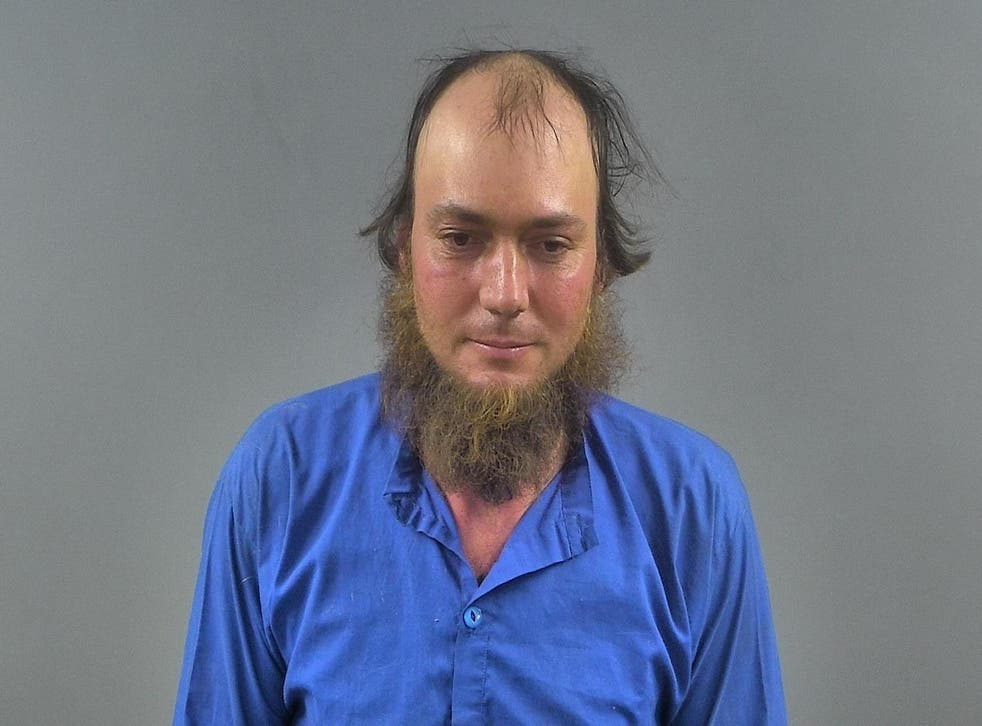 Reuben Yoder, 34, was arrested on 10 felony counts after police in Kentucky accused him of drinking and driving in a horse-drawn carriage that crashed into a vehicle.