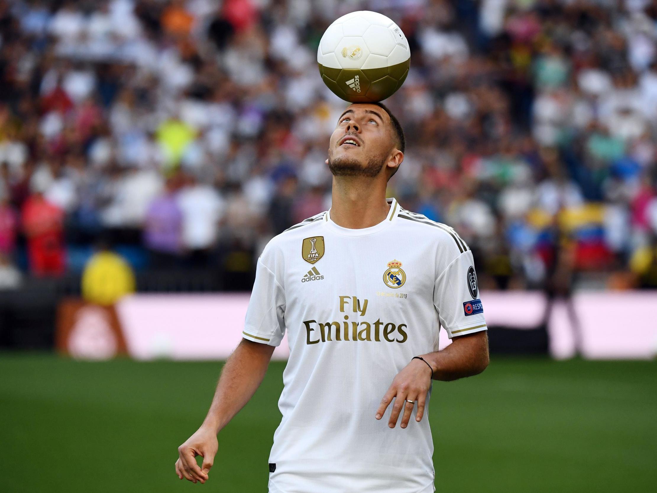 Эден Азар, Реал Мадрид