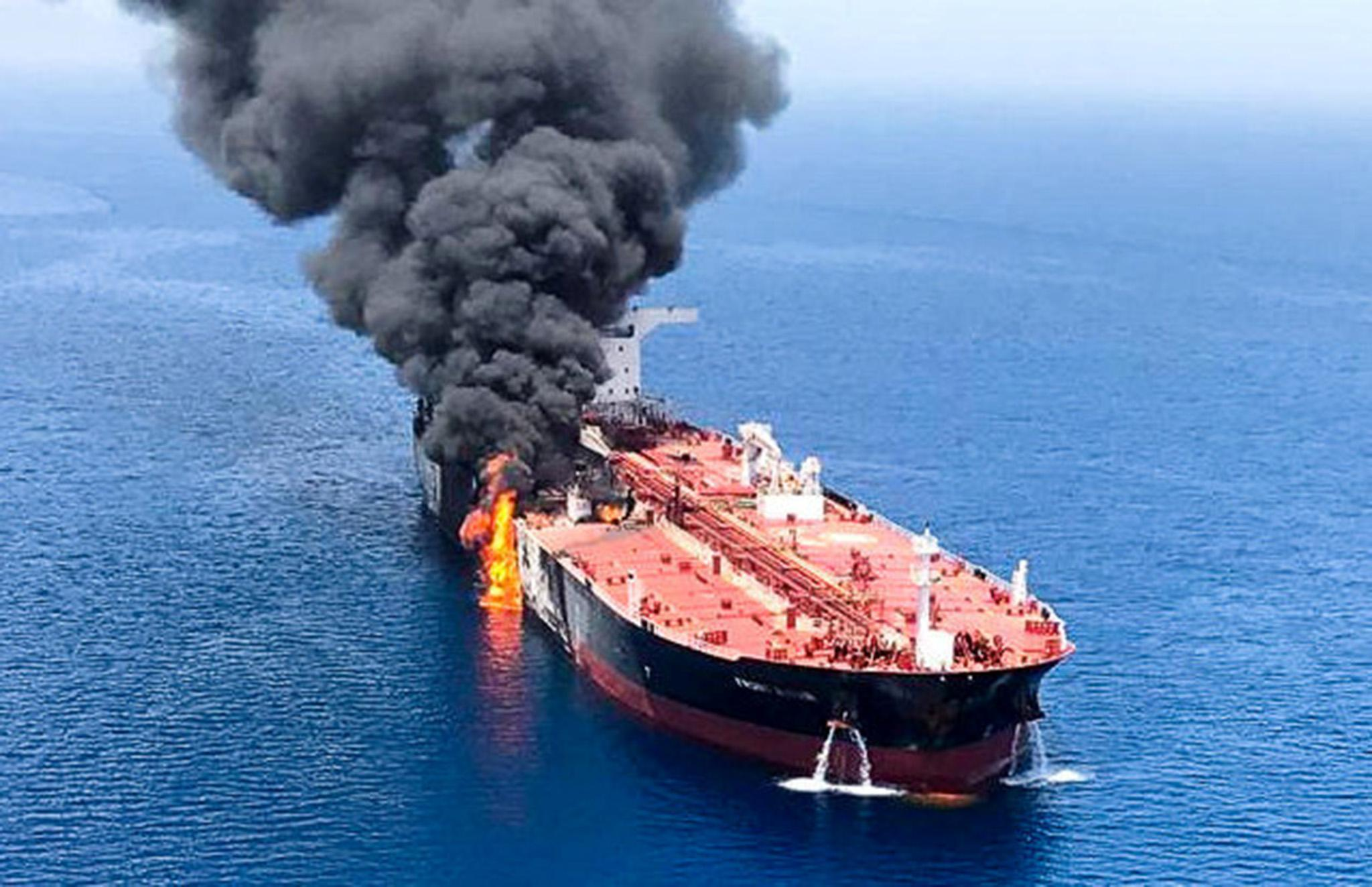 They make claims to create tension': Iran denies boats tried to