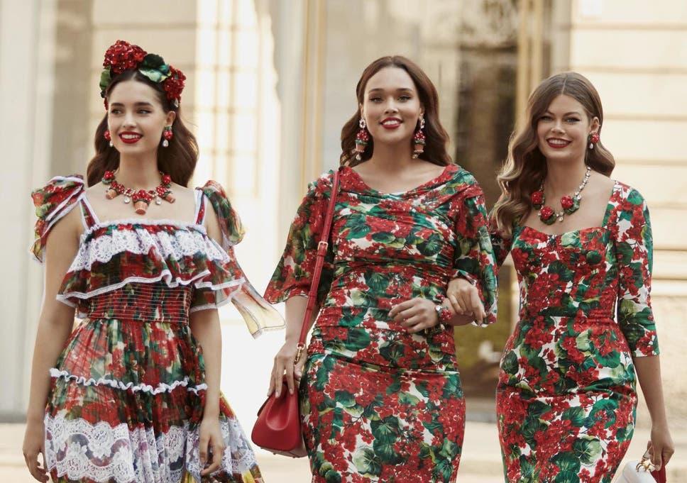 size 40 6beb4 78db4 Dolce & Gabbana extends size range up to UK 22