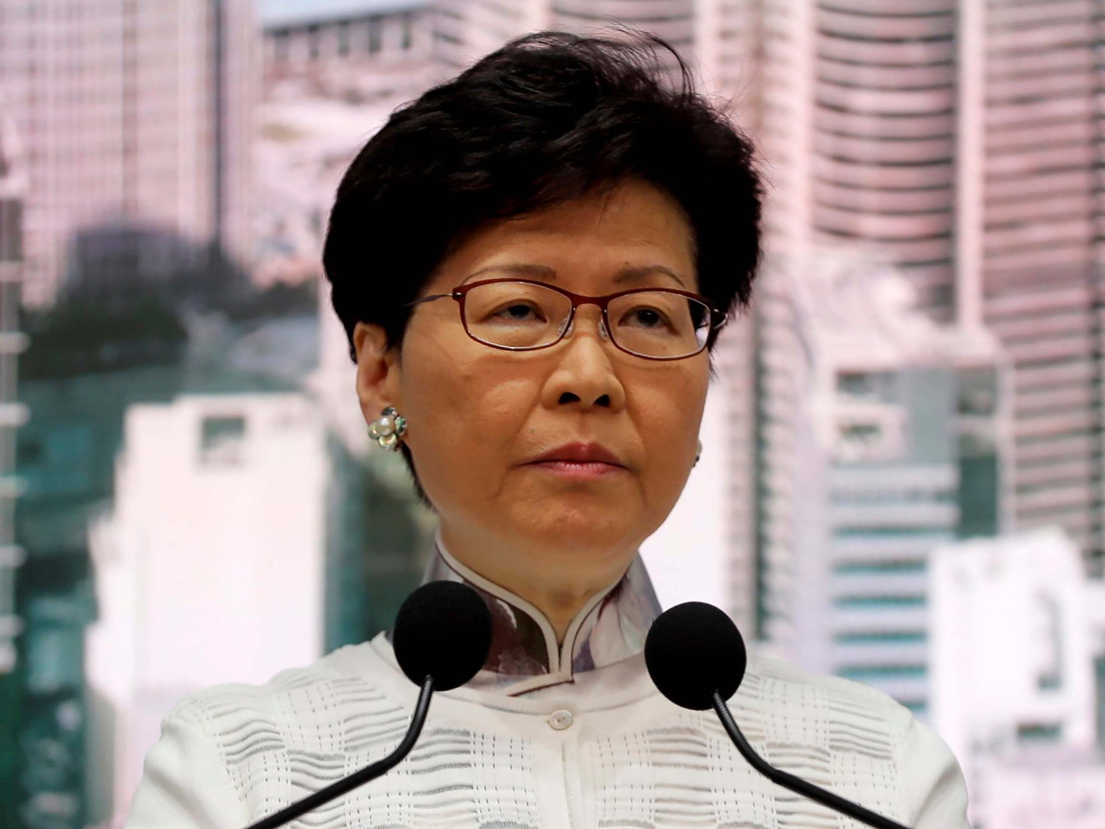 Hong Kong leader Carrie Lam suspends controversial China extradition bill after mass protests and violence