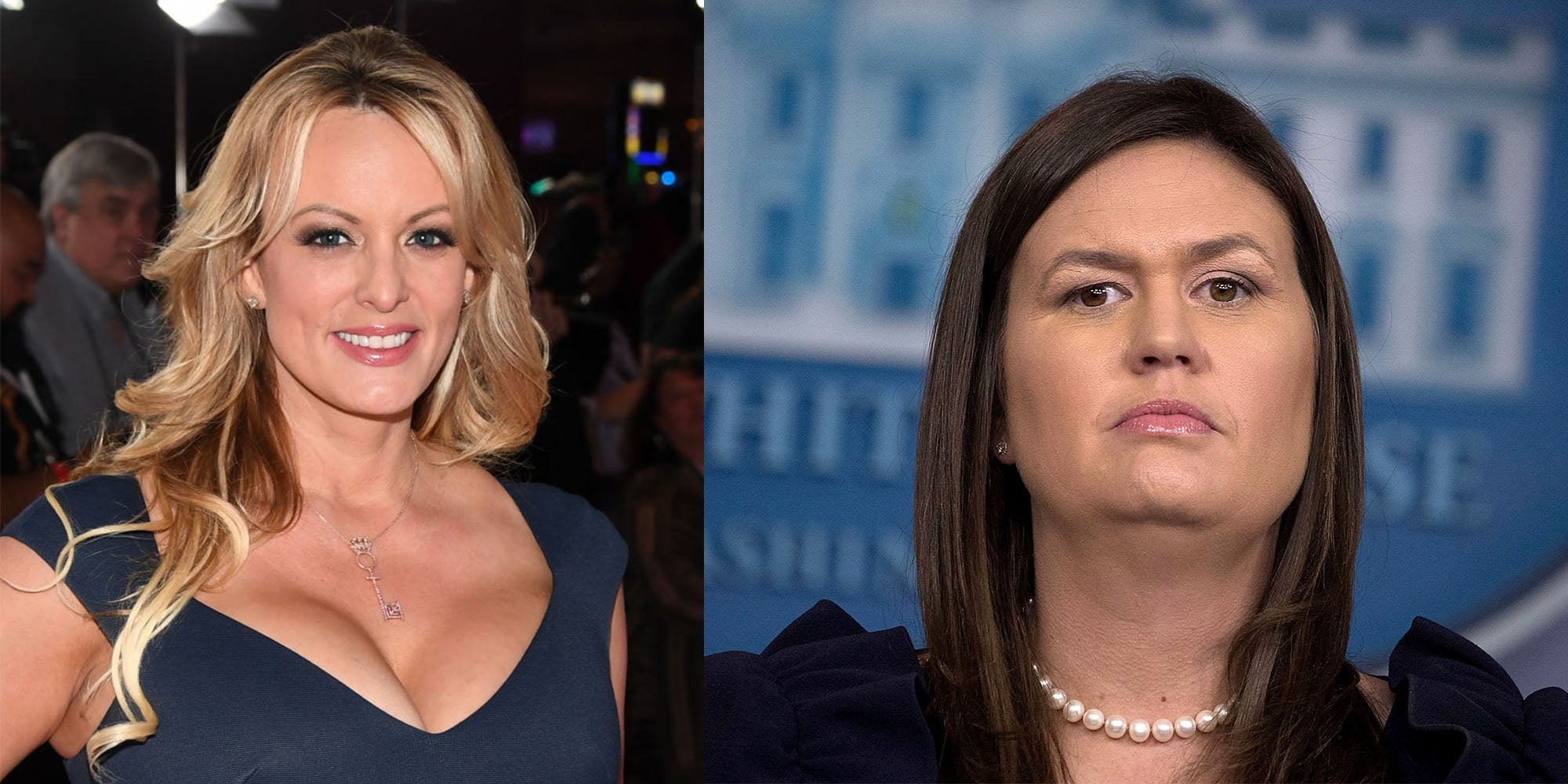 Stormy Daniels had the best response to Sarah Sanders leaving the White House