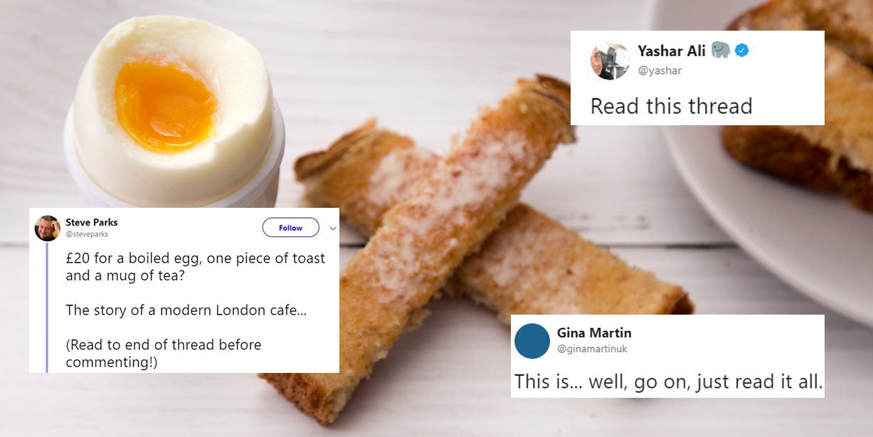 Twitter thread about a London cafe with a twist has gone viral for the best reason