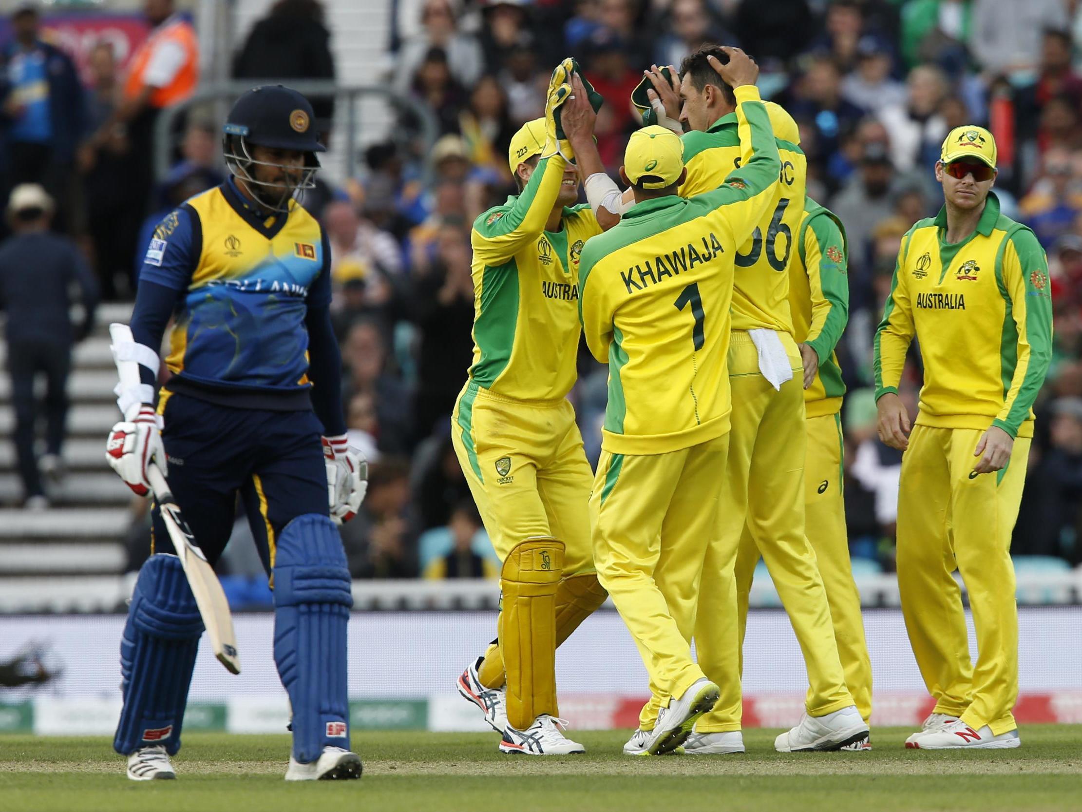 Australia Vs Sri Lanka Cricket World Cup 2019 Aaron