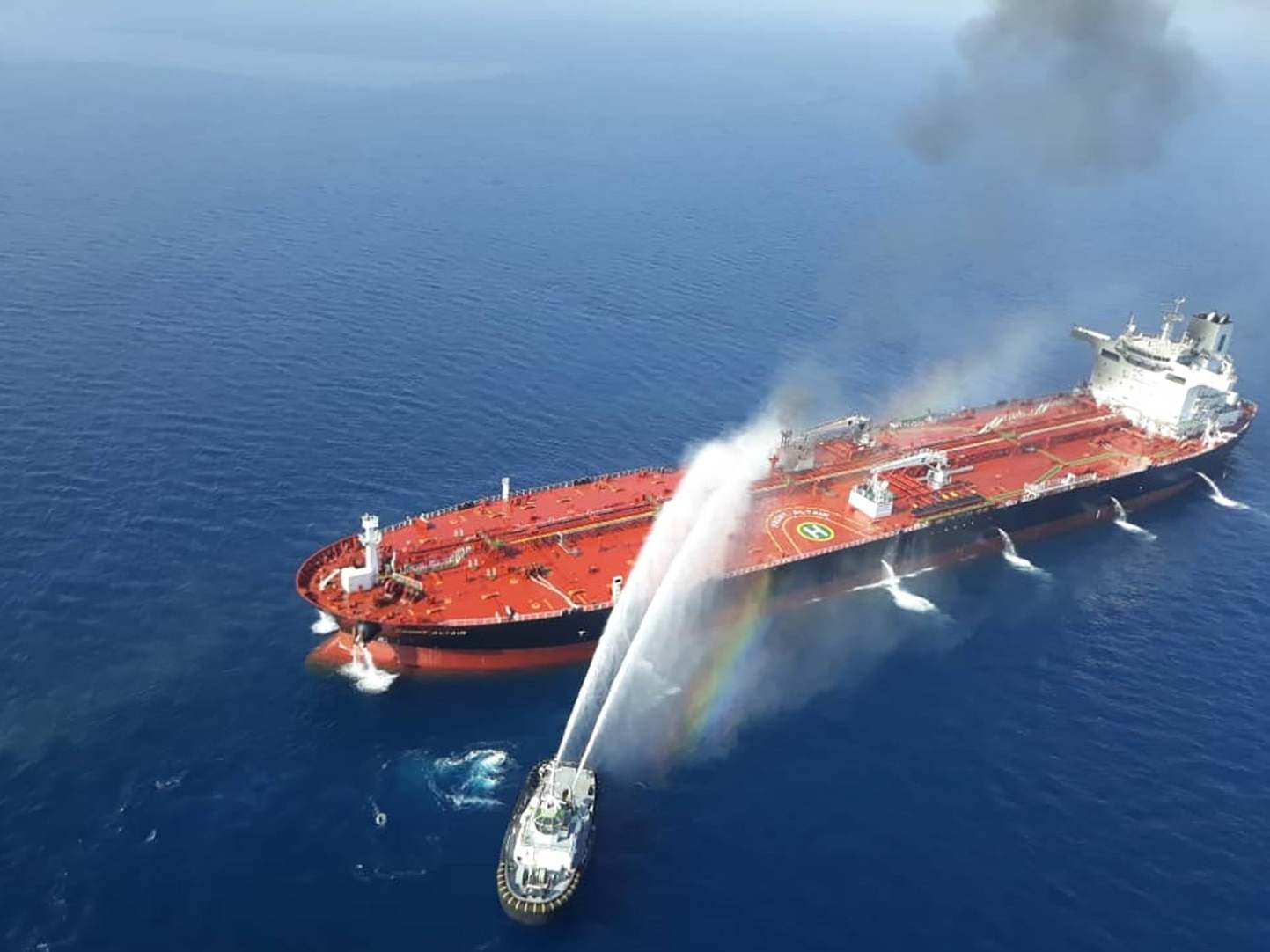 Gulf of Oman: Unconvinced EU foreign ministers call for independent investigation after US claim Iran is behind tanker attack