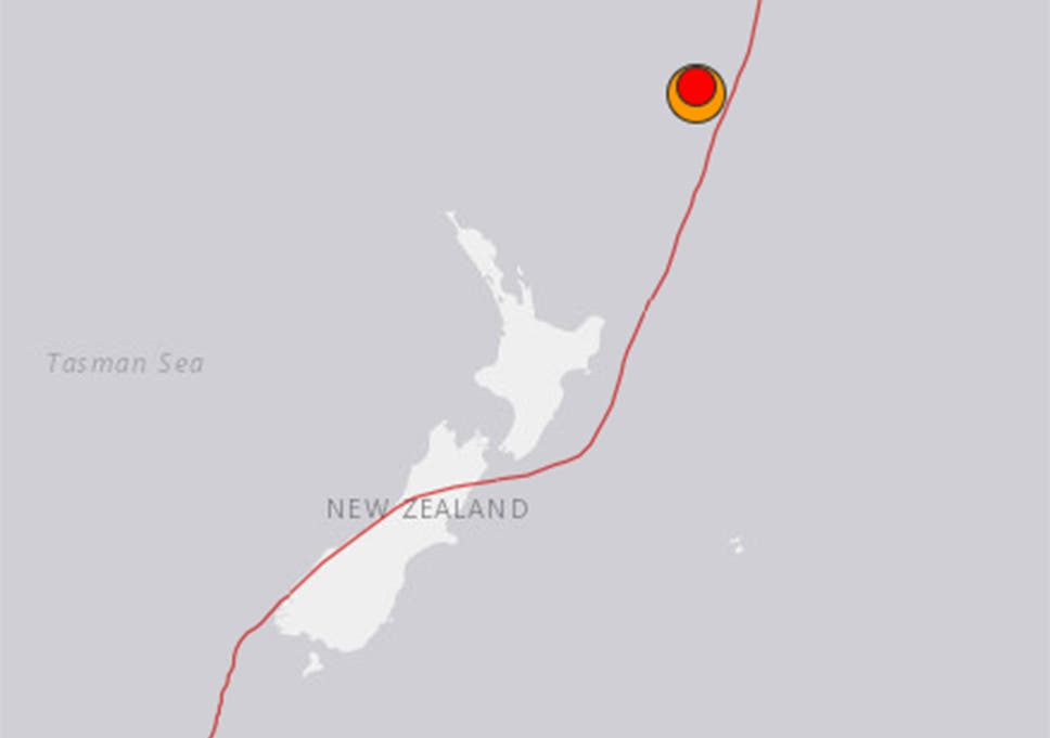 Pacific Ocean earthquake: Tsunami alert issued after