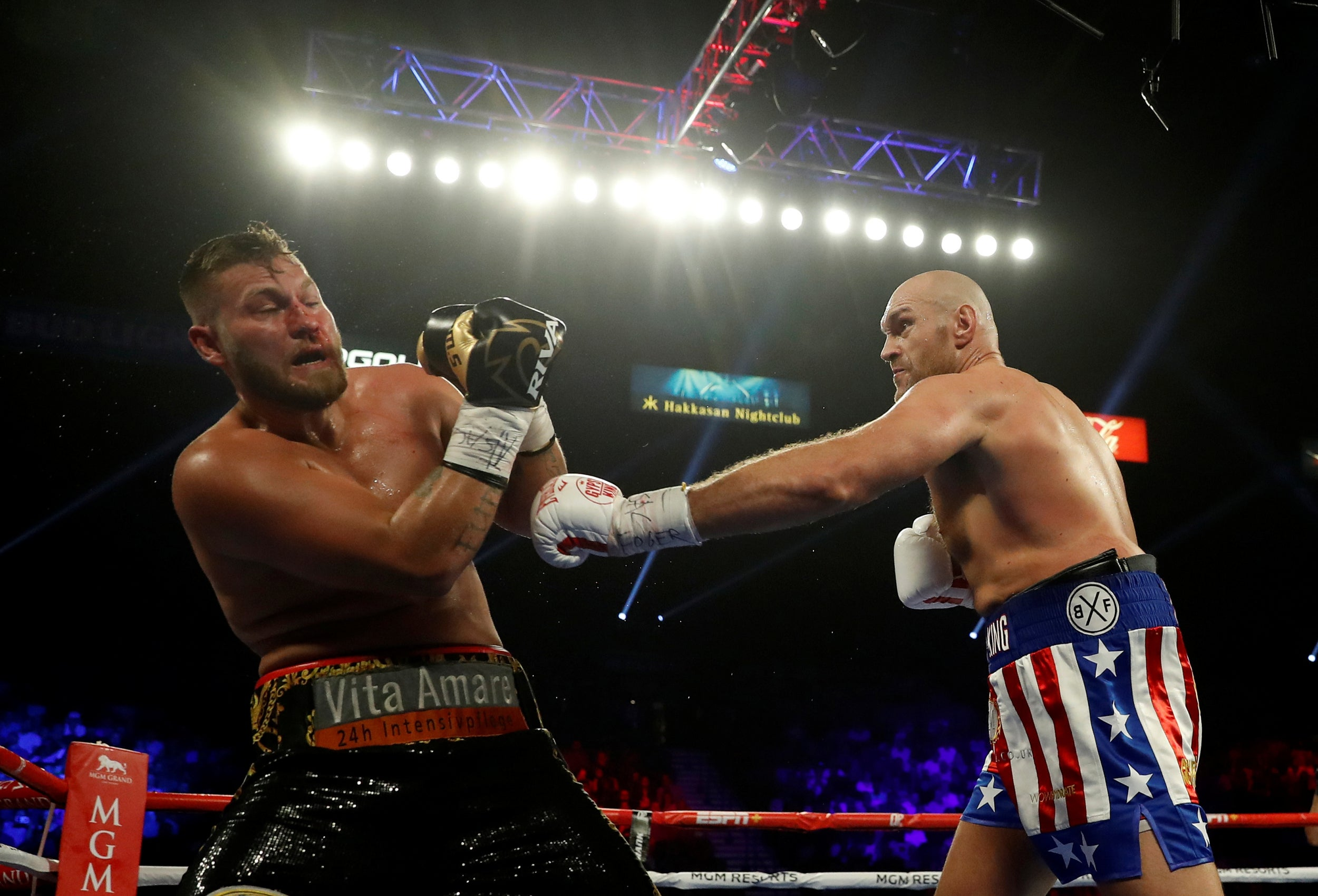 Tyson Fury vs Schwarz result: Dilian Whyte says his mum could have