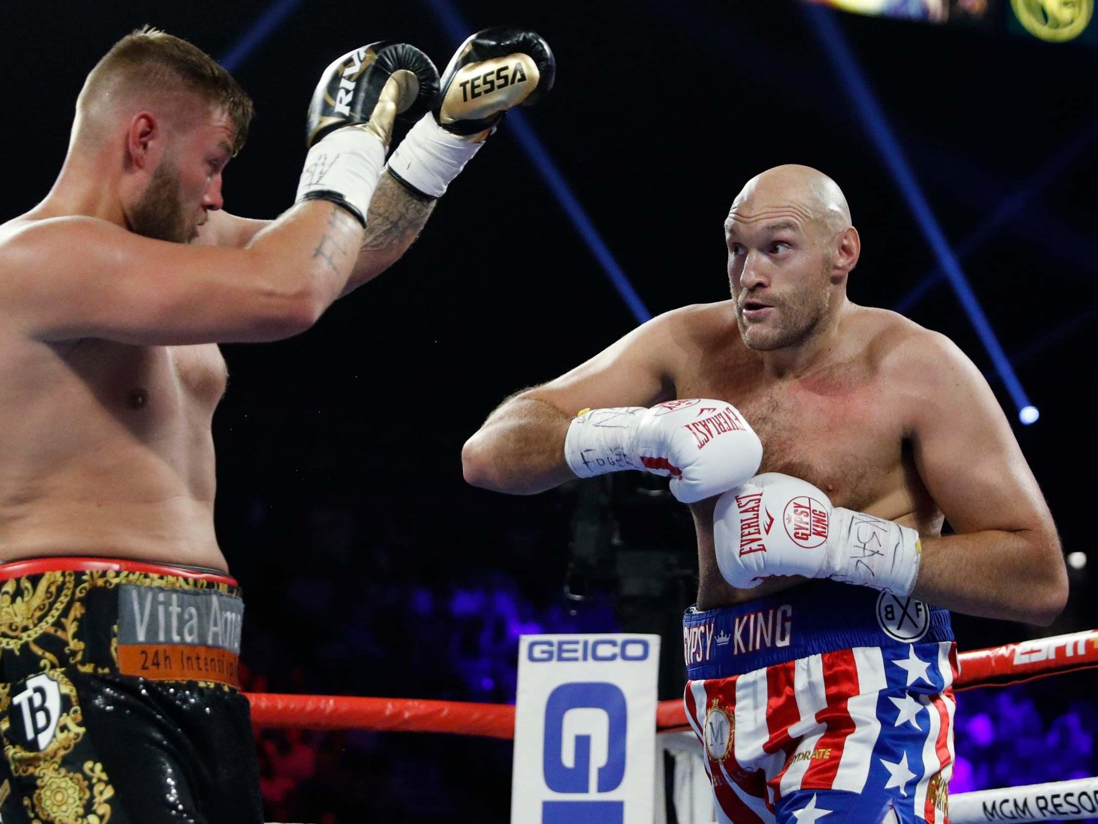Tyson Fury vs Tom Schwarz result: LIVE updates, Stream, UK start