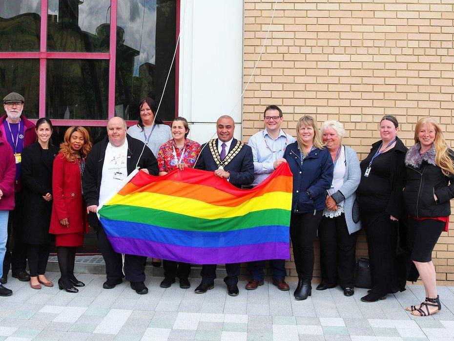 Basildon's mayor subjected to racist chants as he raises LGBT+ flag at Pride event