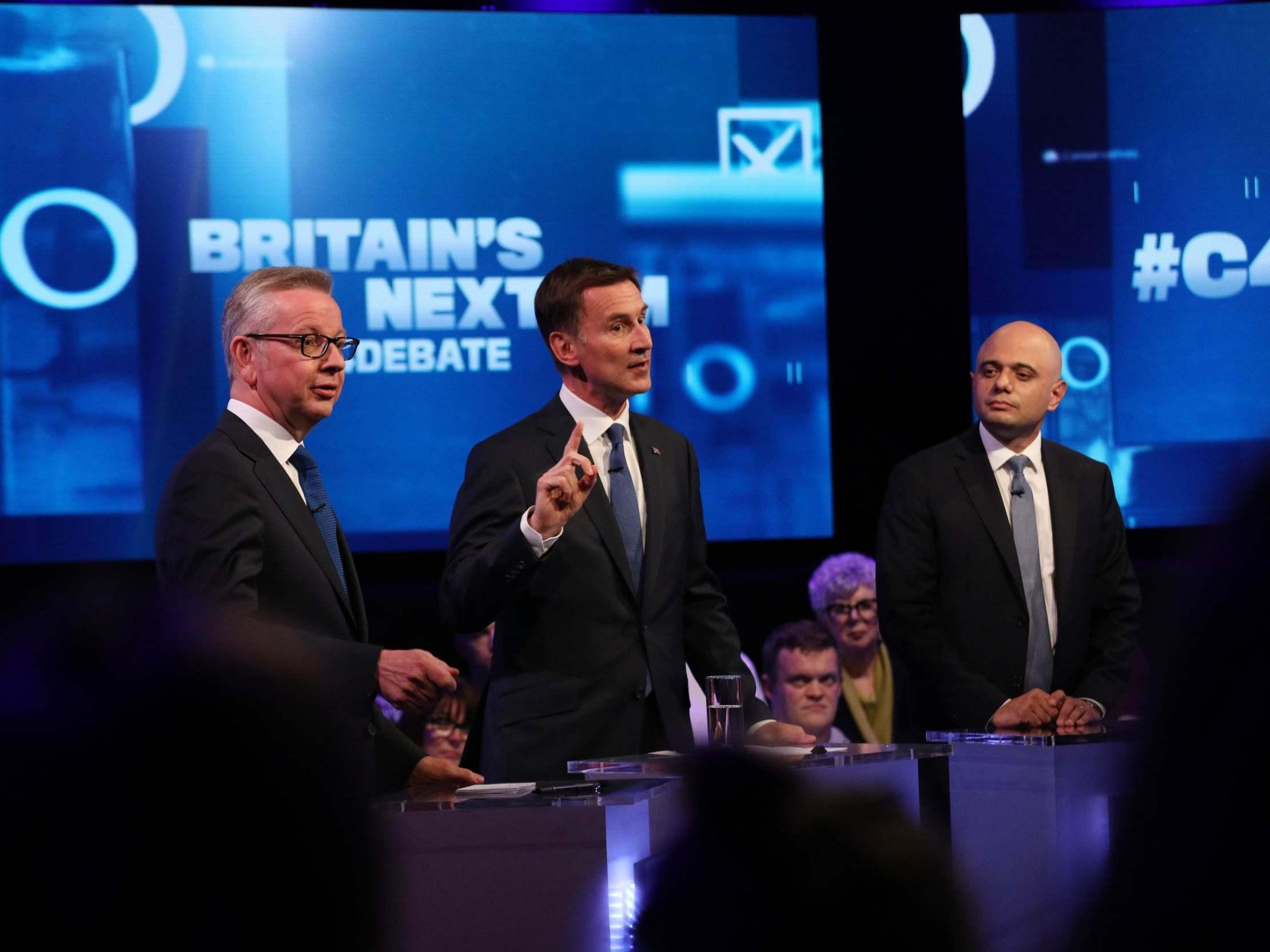 Tory leadership debate: Jeremy Hunt attacks Boris Johnson for skipping TV hustings