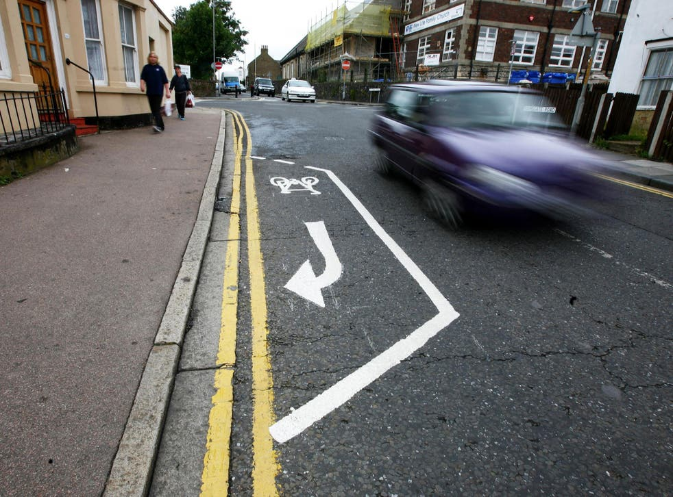 Far too many of Britain's cycle lanes are ineffectual strips of white paint, the cycling commissioners argue