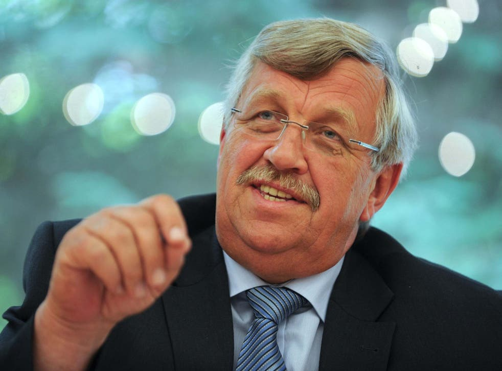 Walter Luebcke, CDU administrative chief, in February 2019