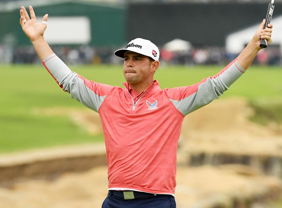 The American secured the first major title of his career on Sunday