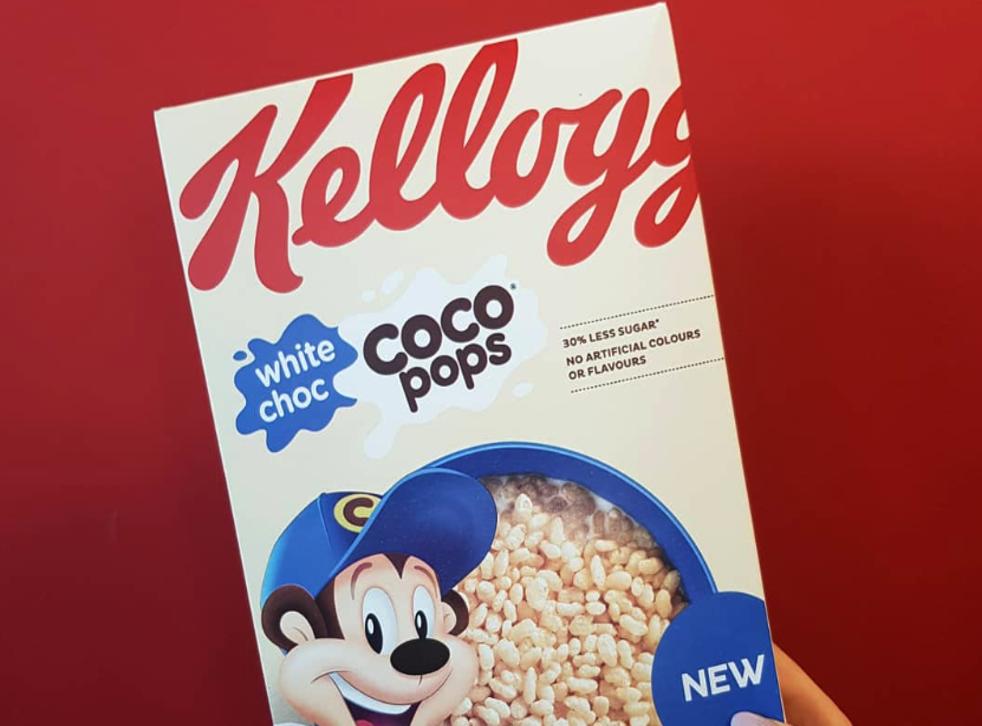 Kellogg's releases white chocolate Coco Pops (Kellogg's)