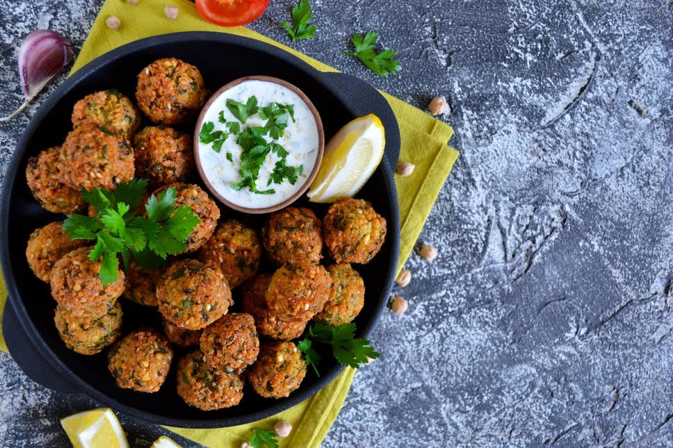 'The Best Thing That Ever Happened to Chickpeas.' Google Celebrates Falafel With a Doodle