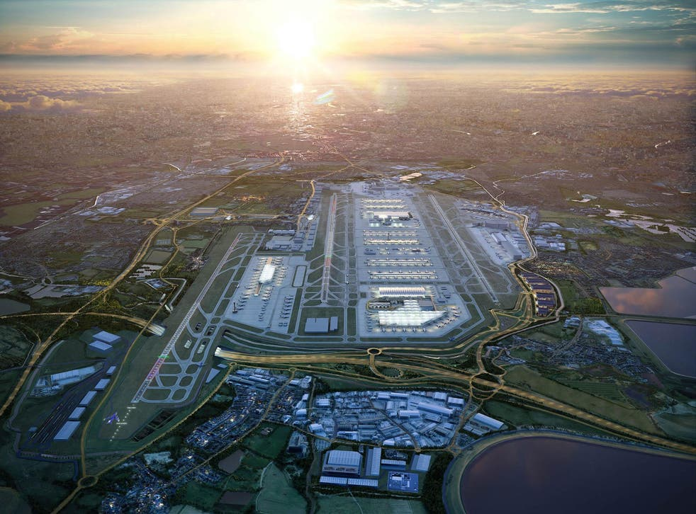 The £14bn Heathrow 'masterplan' includes diverting rivers, rerouting the M25 and building the world's largest carpark