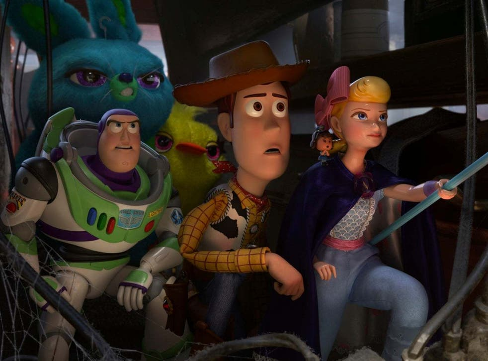 Tim Allen, Tom Hanks and Annie Potts return as the voices of Woody, Buzz Lightyear and Bo Peep
