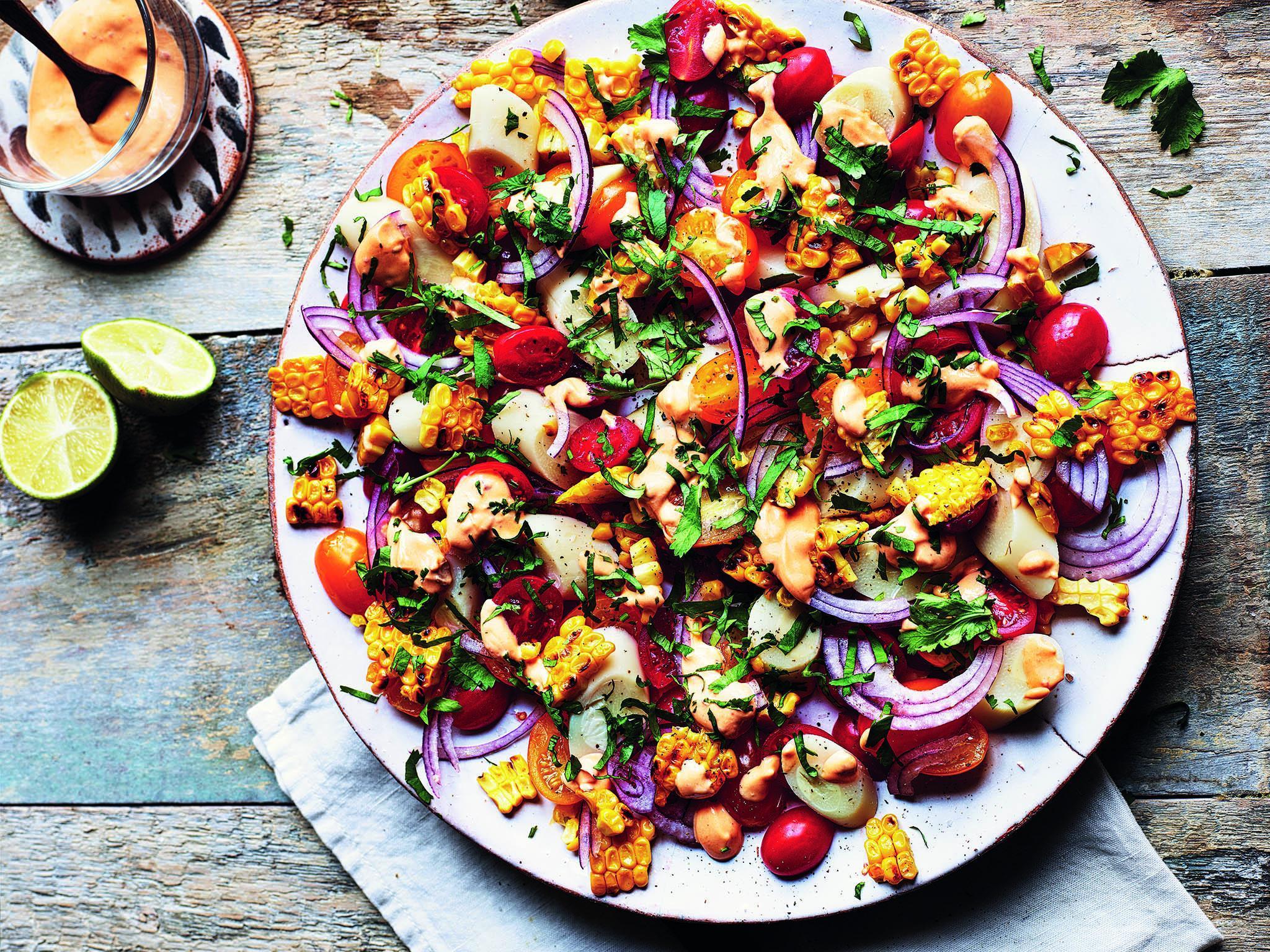 Sabrina Gayhour's 'Bazaar' cookbook: Recipes from sweetcorn salad to sumac tomato toast 1