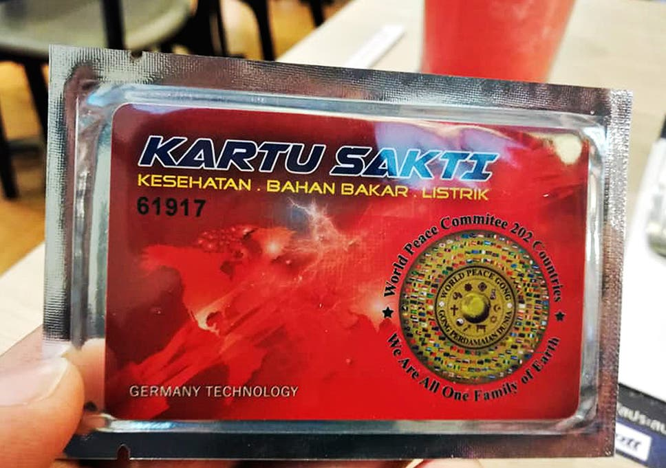 Magic' cards sold in Thailand to cure diseases 'found to emit