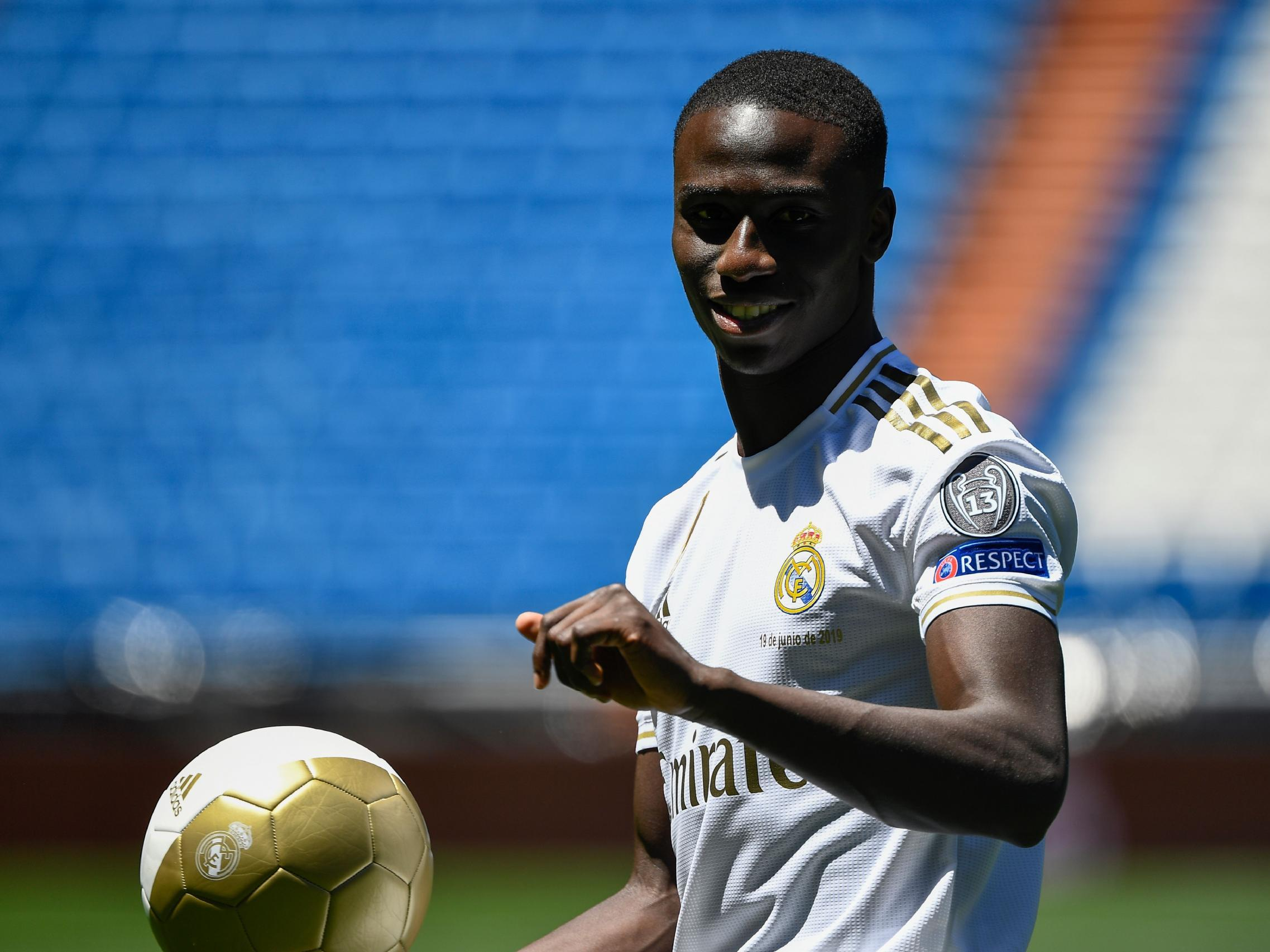 Ferland Mendy: Real Madrid unveil new signing after £49m move