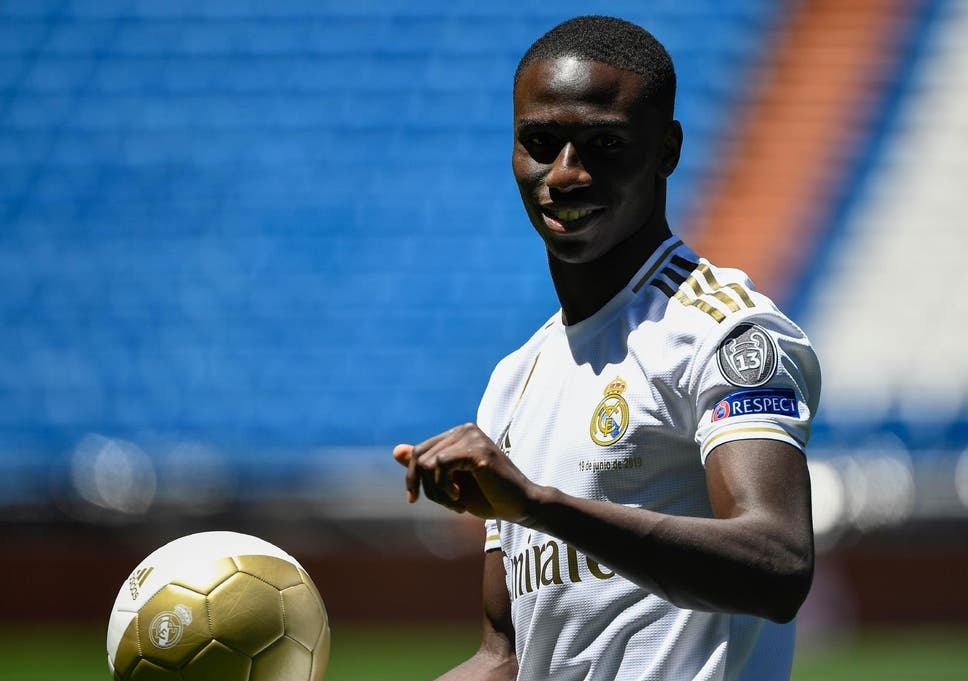 Ferland Mendy: Real Madrid unveil new signing after £49m move | The