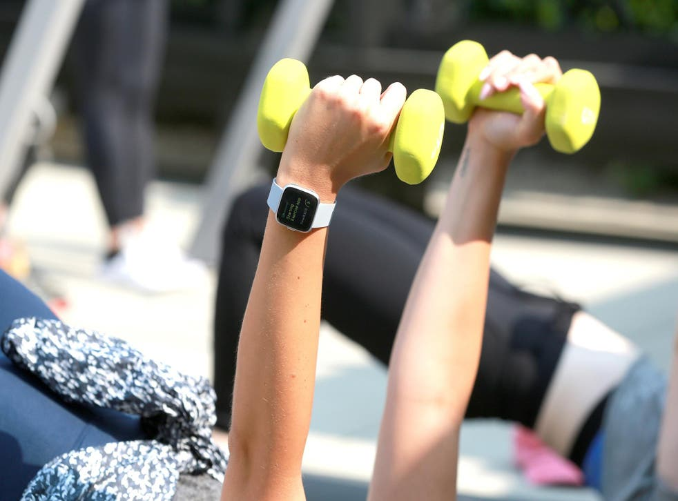 Fitness trackers could help workers' health