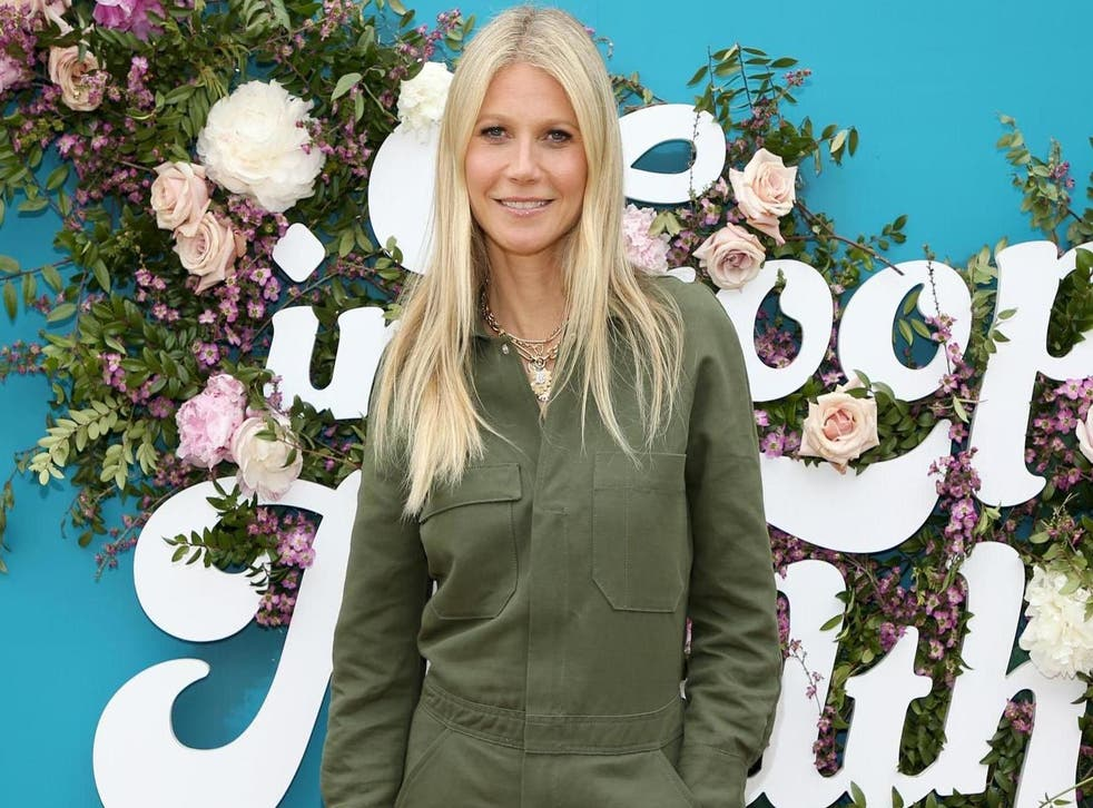 The Goop girl: Gwyneth Paltrow at an LA In Goop Health summit in May