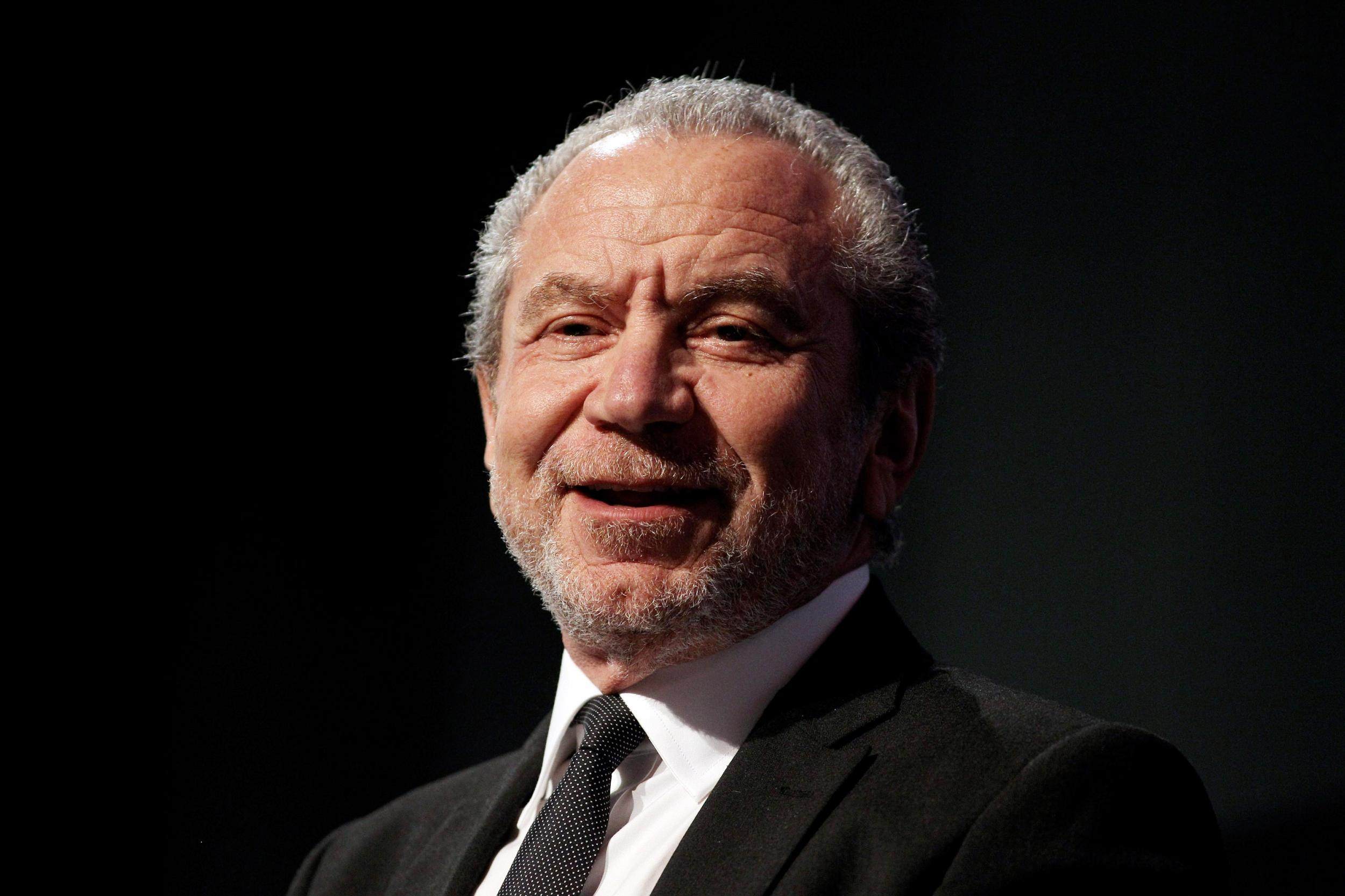 Alan Sugar reveals he has only ever changed 'two or three nappies' a…
