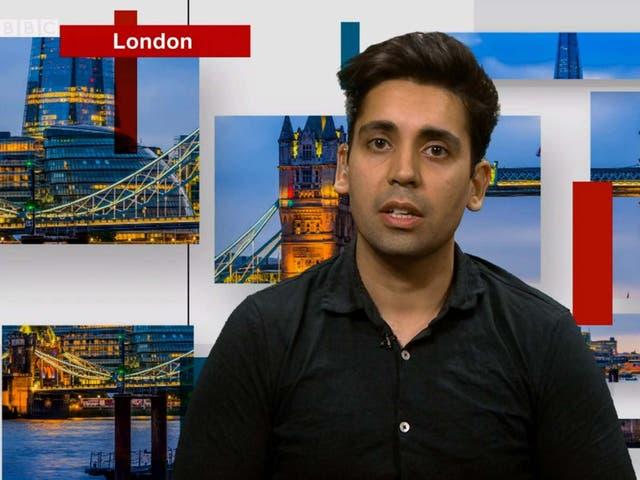 Aman Thakar on BBC debate