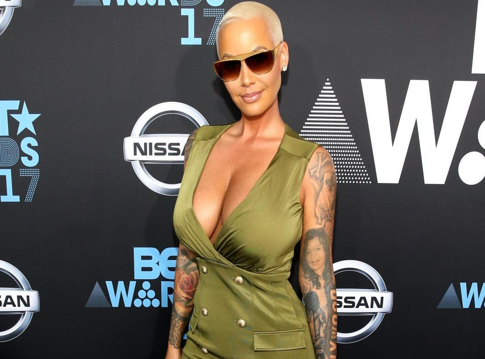 Amber Rose criticised for promoting detox tea while pregnant (Getty)