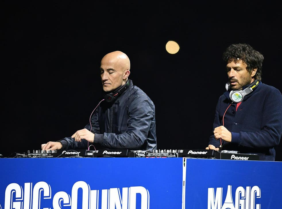 Philippe Zdar (right) of French duo Cassius, has died after falling from a building in Paris