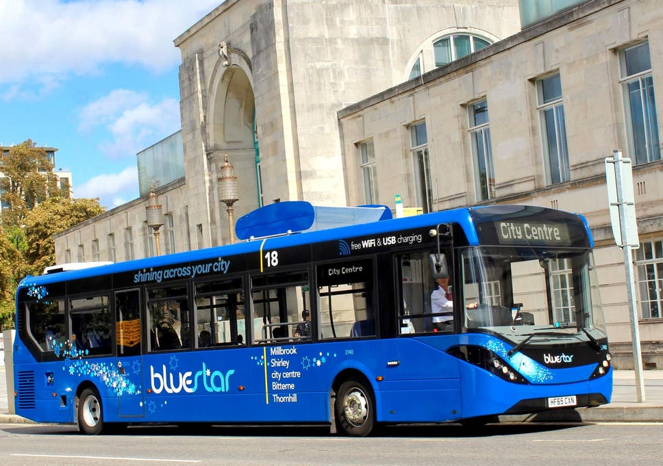 Buses that suck pollution out of the air to be rolled out in