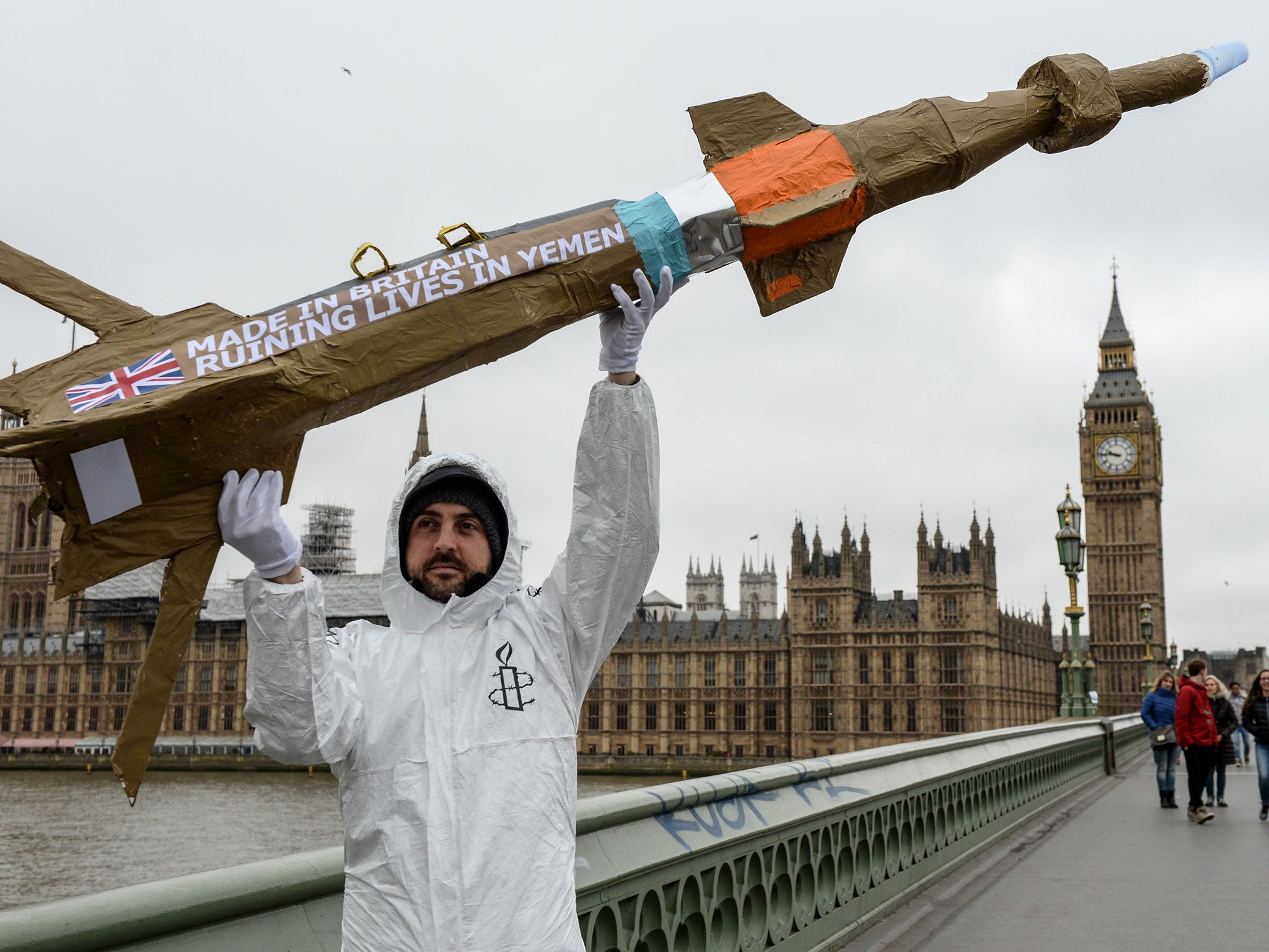 UK arms sales to Saudi Arabia unlawful, Court of Appeal rules