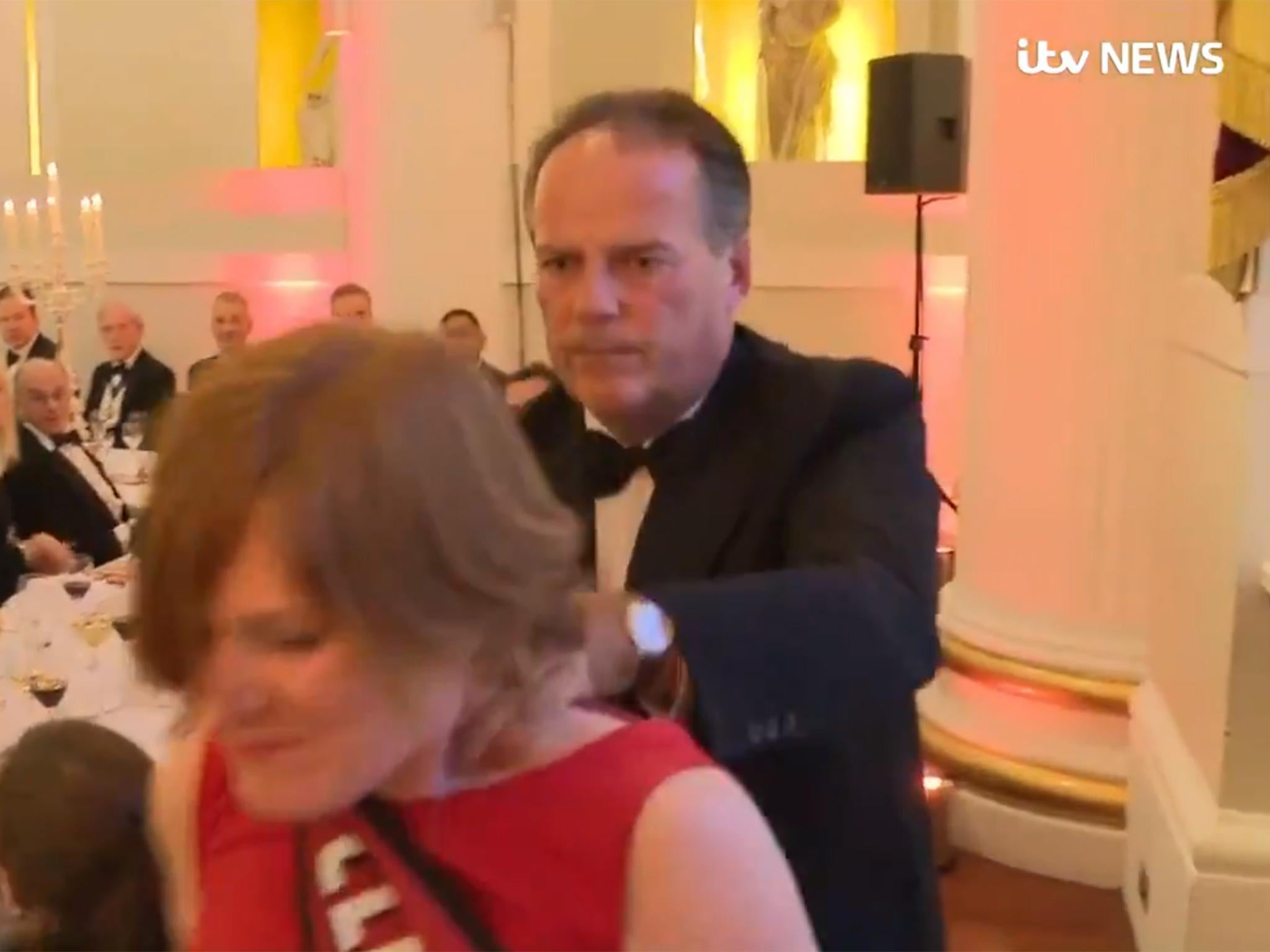 Mark Field suspended: Tory minister loses job after grabbing female climate protester