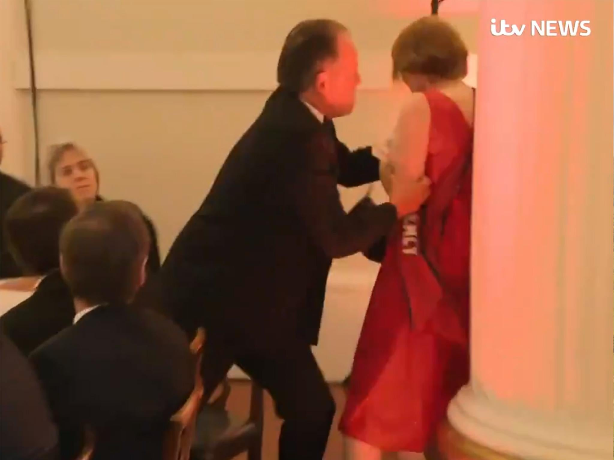 The scariest thing about the video of Mark Field assaulting a protester is that no one spoke up