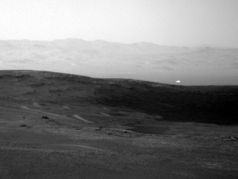 Mysterious glowing light on Mars captured by Nasa's Curiosity probe