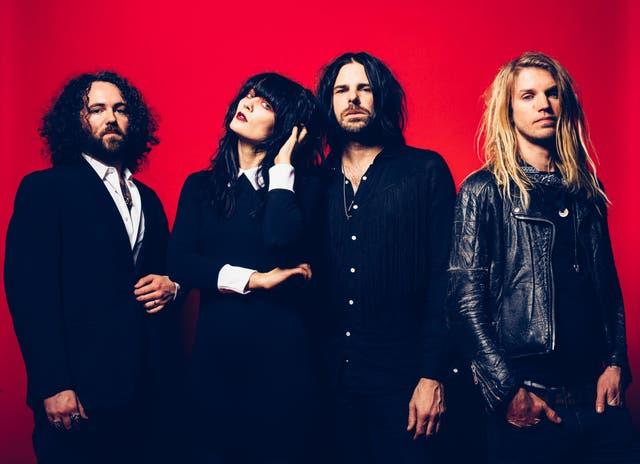 Rock band Saint Agnes