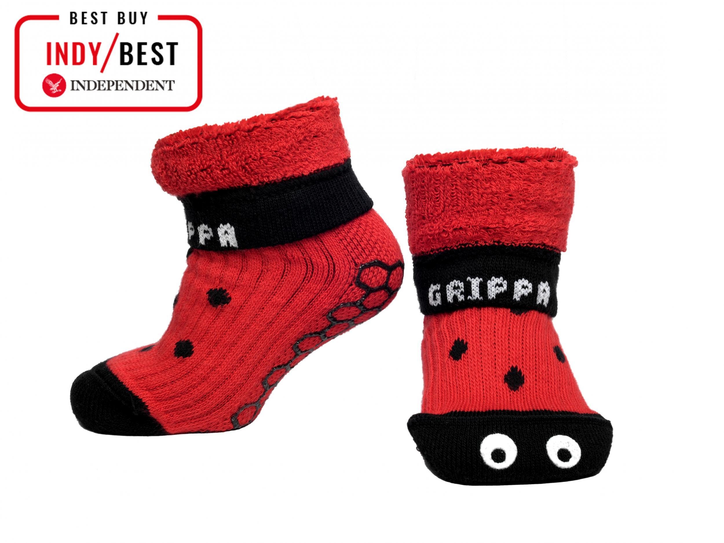086f8df8 Best slipper socks for toddlers that are warm, comfortable and easy ...
